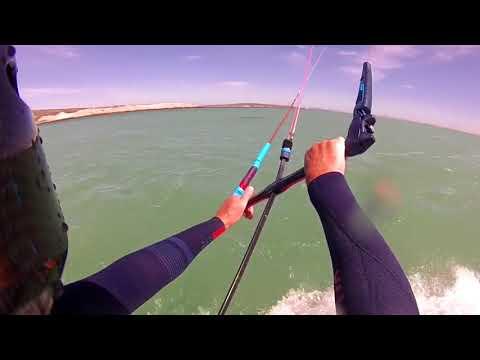 Lekker by the Sea. Kitesurfing Main Beach Langebaan.