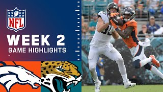 Broncos vs. Jaguars Week 2 Highlights | NFL 2021
