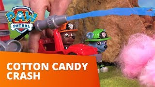 PAW Patrol  Cotton Candy Crash  Ultimate Rescue Toy Episode  PAW Patrol Official amp Friends