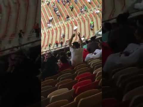 Women in Jeddah Stadium
