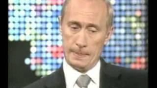 В.Путин.Интервью ведущему CNN,Ларри Кингу. 08.09.00 Part 1