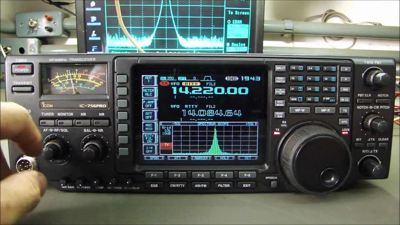 ICOM IC-756PRO - Manutenção Noise Blanker e Alinhamento