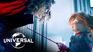 Cult of Chucky | Chucky Possesses a Human & Escapes With His Bride