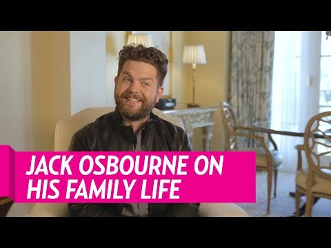 Jack Osbourne Opens Up About Family Life