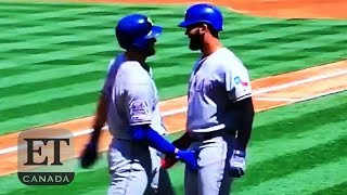 Crotch Grab After Home Run Goes Viral