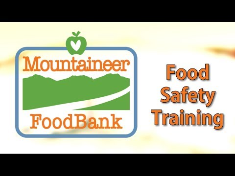 Food Safety Training - Mountaineer FoodBank