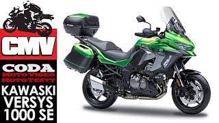 Kawasaki Versys 1000 SE - test, opinia, recenzja - CMV Moto Testy