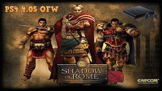 "Playing ""Shadow Of Rome"" on Ps4"