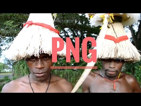 Faces Of Papua New Guinea