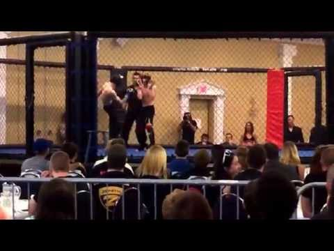 UFC prodigy lightning rider cage debut w head kick knockout