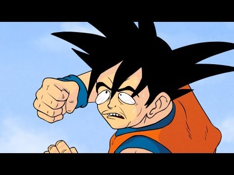 Dragonzball P (Dragonball Z Parody) - Oney Cartoons