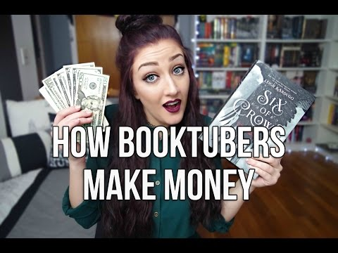 HOW BOOKTUBERS MAKE MONEY.