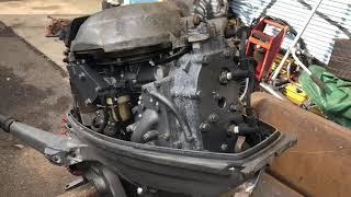 Тест лодочного мотора в Японии Yamaha CV25лс от Planet Watersport.ru