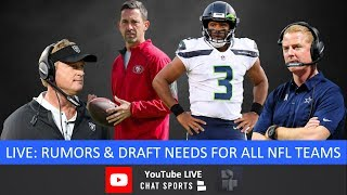 NFL Rumors, 2019 NFL Draft Needs For All 32 Teams, Russell Wilson, Gerald McCoy Trade & NFL News