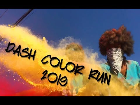 Dash Color Run 2k19 !! || Epic Vlog