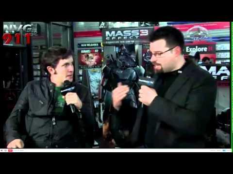 Mass Effect 3 Launch Interviews (5/7)