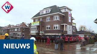Alphense villa van 650 ton in mum van tijd verplaatst - OMROEP WEST