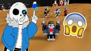 My real name is....... Sans! XD ? Roblox: Sans Simulator Español