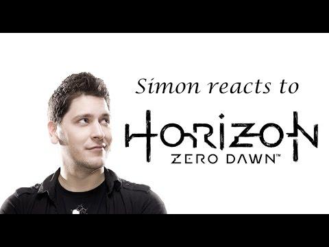 Simon reacts to Horizon Zero Dawn Demo - RBTV - E3