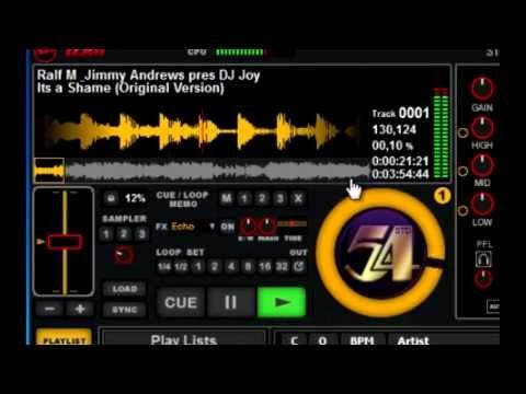 Free Software DJ by Studio 54 (SPDJ01)