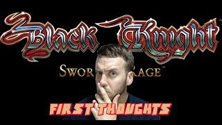 Black Knight Sword of Rage Pinball: My First Thoughts