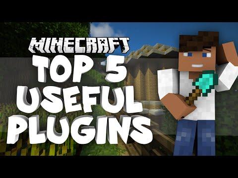 Top 5 Useful Plugins | Minecraft