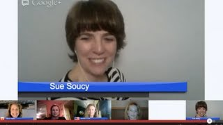 iLiving App Opportunity - How To Market Online - Google Hangout With Sue Soucy And Friends