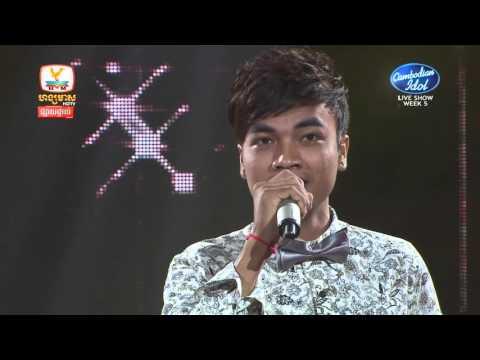 Cambodian Idol | Live show | Week 05 | សៅ ឧត្តម | ជាងកាត់សក់ដៃឯក