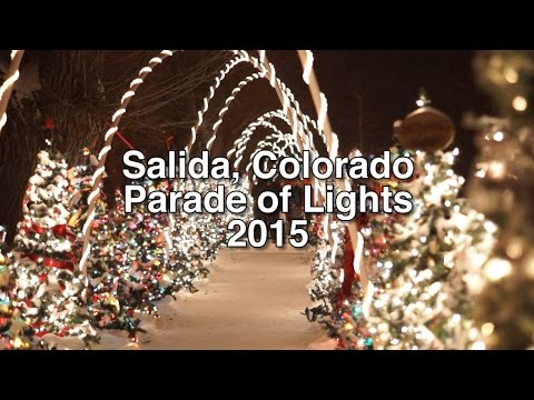 Salida Colorado Parade of Lights 2015