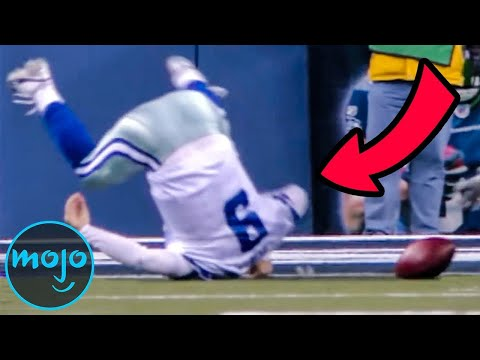 Top 10 Funniest NFL Fails of All Time!