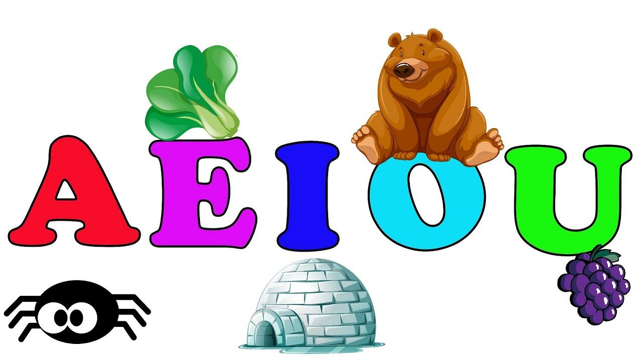 Aprendamos las Vocales - Video para niños en Español 2021 - Video for Kids A E I O U aprende jugand