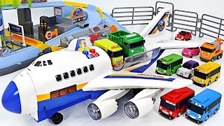 Tayo Cargo Plane and Exciting Tayo Minicar Play | PinkyPopTOY