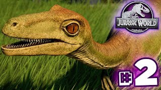 TROODON IS HERE!!! - Jurassic World Evolution - Secrets of Dr.Wu | Ep2 HD