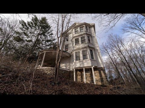Satanic Ritual Abandoned Mansion (everything left)