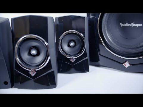 Rockford Fosgate/ Cyber Acoustics Punch Speaker System