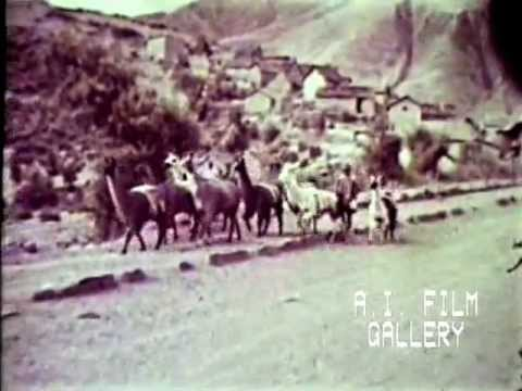 History and archeology of the Inca Empire and its contemporary descendants, 1945