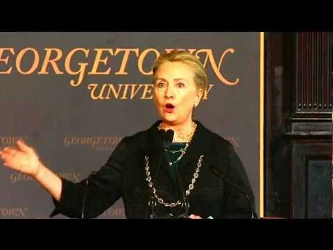 Secretary Clinton Delivers Remarks on Energy Diplomacy in the 21st Century