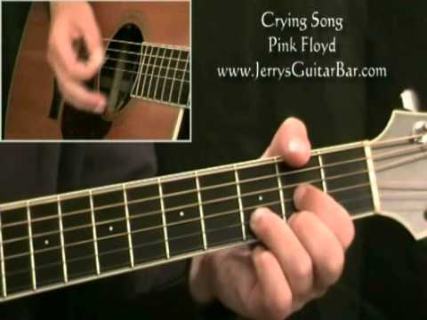 How To Play Pink Floyd Crying Song (intro only)