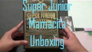 Unboxing Super Junior 슈퍼주니어 7th Album [Mamacita (아야야] Ver A