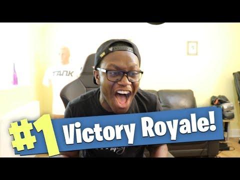I WON? (Fortnite: Battle Royale)