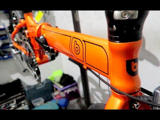 Banian Folding Bike Banian Airspeed Orange