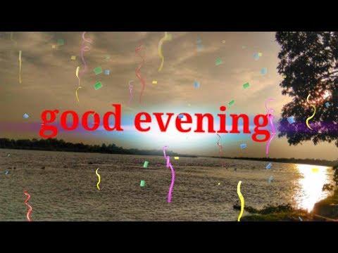 Good Evening SMS Video | Good Evening Message | Good Evening SMS