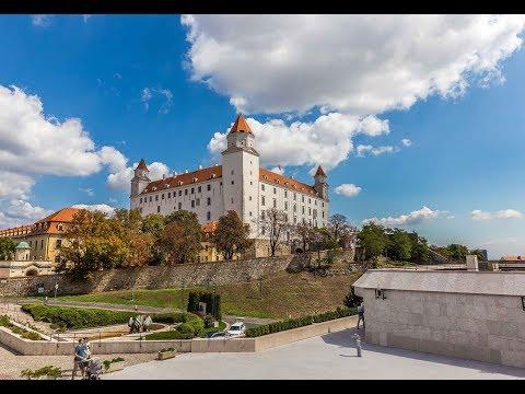 Walking in Bratislava