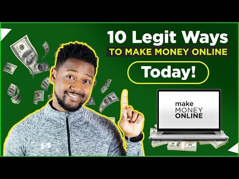10 LEGIT Ways to Make Money Online TODAY!  2019 💸 | NO COLLEGE DEGREE NEEDED! (EASY) 😝
