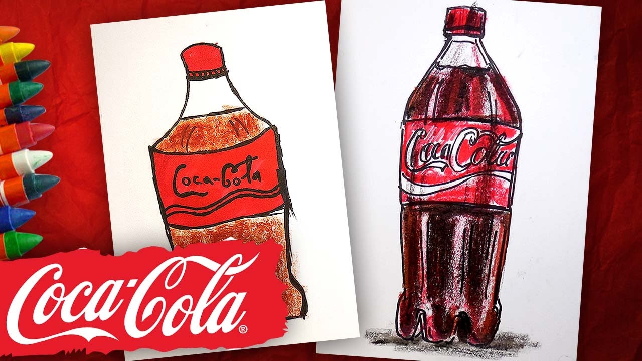 картинки как нарисовать колу раз