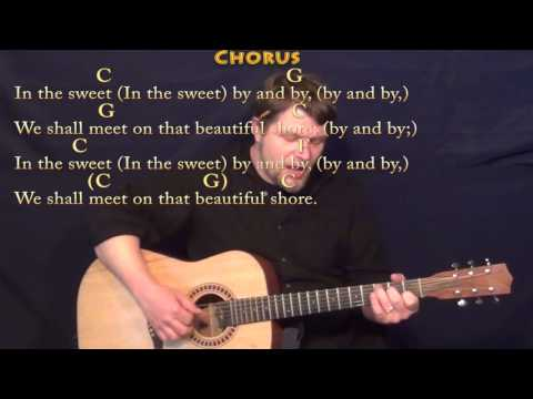 Sweet By and By - Fingerstyle Guitar Cover Lesson in C with Chords/Lyrics