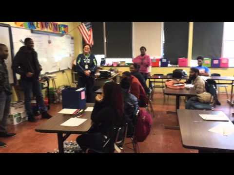 NFL players visit Flint Community Schools during water crisis