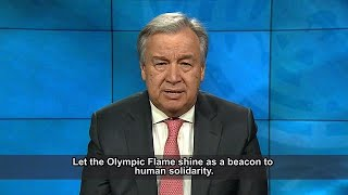 PyeongChang Olympic Winter Games  - UN Secretary-General António Guterres video message