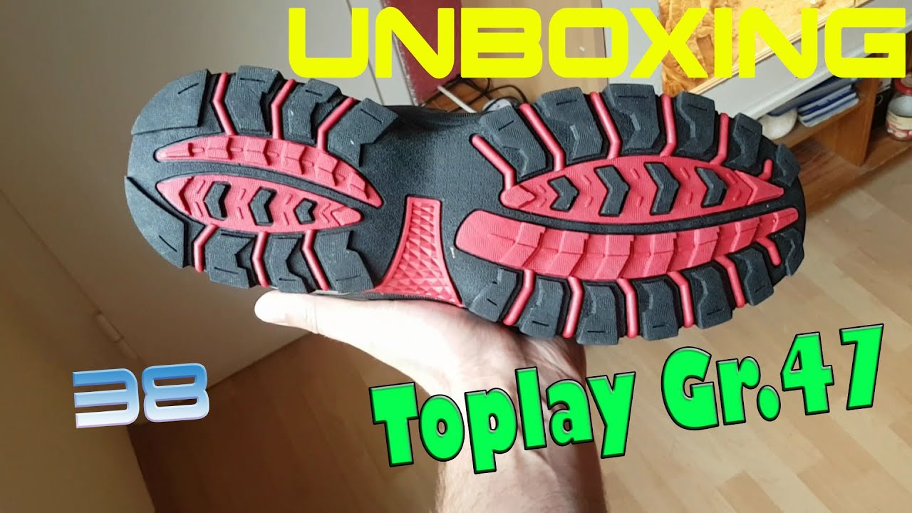 f4860fc9040 UnBoXinG 🎁  38 Toplay Schuhe Gr.47 (German) - YouTube