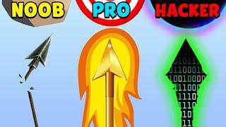 NOOB vs PRO vs HACKER - Archer Hero 3D screenshot 4